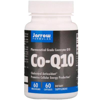 Коэнзим Q10, Co-Q10, Jarrow Formulas, 60 мг, 60 капсул