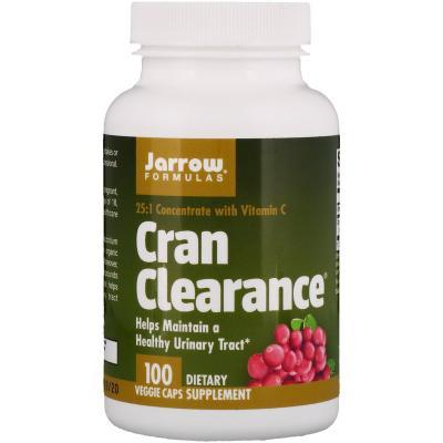 Поддержка мочевыводящих путей, Healthy Urinary Tract, Jarrow Formulas, 100 капсул