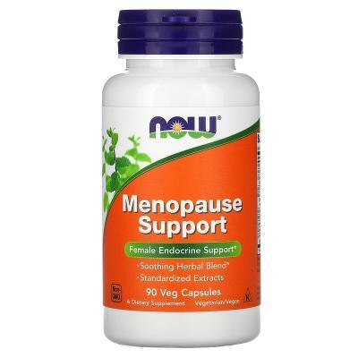 Менопауза, Menopause Support, Now Foods, 90 растительных капсул