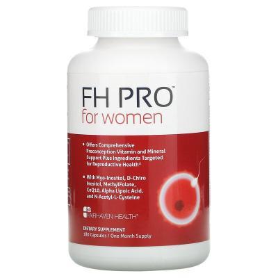 Добавка для беременности клинического класса, FH Pro для женщин, Fairhaven Health, 180 капсул