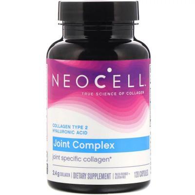Коллаген тип 2 и гиалуроновая кислота, Collagen, Neocell, 120 капсул