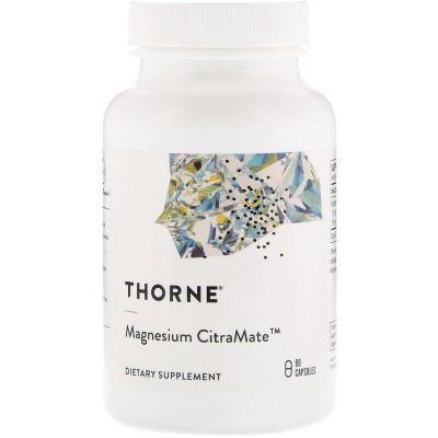 Цитрат/малат магния, Magnesium Citramate, Thorne Research, 90 капсул