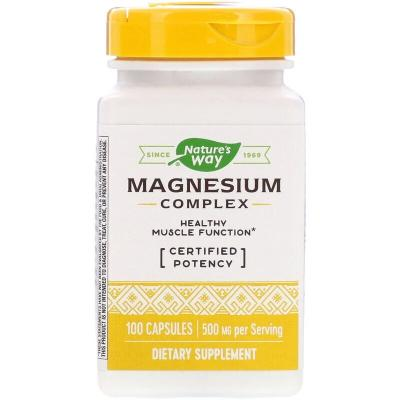 Магниевый комплекс, Magnesium Complex, Nature's Way, 100 капсул