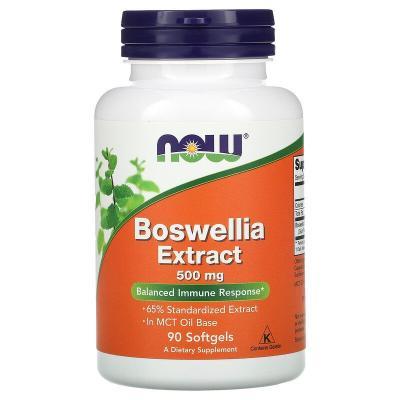 Босвелія, Boswellia, Now Foods, 500 мг, 90 капсул