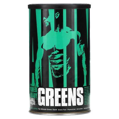 Зелень животного происхождения, формула интенсивной зелени, Animal Greens, Intense Greens Formula, Universal Nutrition, 30 пакетиков