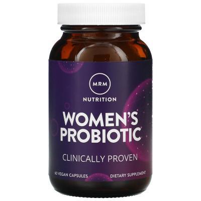 Женский пробиотик, MRM, 60 веганских капсул