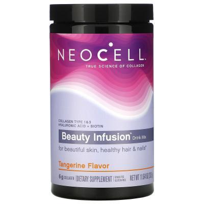 Витаминная смесь для напитков, мандарин, Beauty Infusion, Neocell, 330 г (11,64 унции)