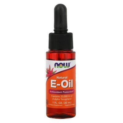 Натуральное масло с витамином E, E Oil, Now Foods, 30 мл