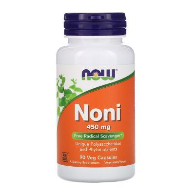 Нони Гавайский, Noni, Now Foods, 450 мг, 90 капсул