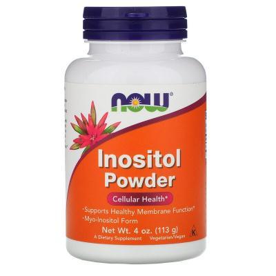 Инозитол, порошок, Inositol Powder, Now Foods, 113 г