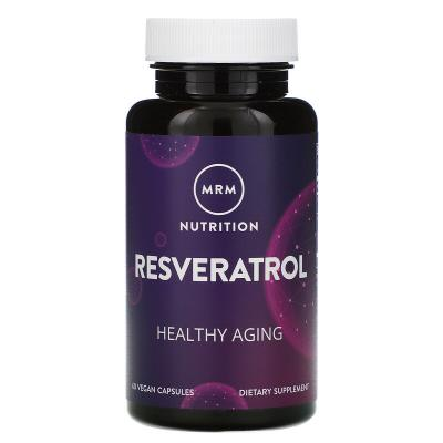Ресвератрол, Resveratrol, MRM, 60 капсул