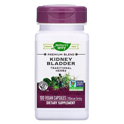 Поддержка почек и мочевого пузыря, 930 мг, Nature's Way, 100 веганских капсул