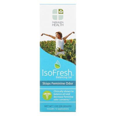 Балансирующий гель для интимной гигиены для женщин, IsoFresh Balancing Gel, Fairhaven Health, 28 г (1 унция)