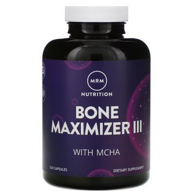 Комплекс для костей, Bone Maximizer III, MRM, 150 капсул