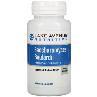 Сахаромицеты Буларди, Lake Avenue Nutrition, 10 млрд КОЕ, 60 капсул