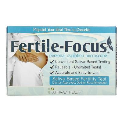 Микроскоп для определения овуляции, Fertile-Focus, Fairhaven Health