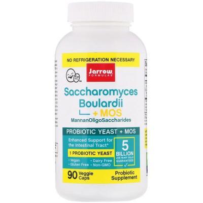 Пробиотик (Saccharomyces Boulardii+MOS), Jarrow Formulas, 5 млрд КОЕ, 90 капсул
