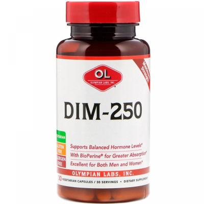 DIM-250, Olympian Labs, 30 капсул