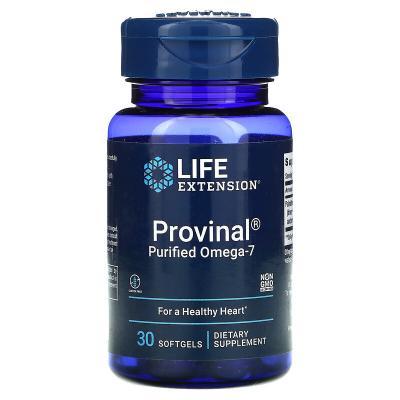 Очищенная форма омега-7, Provinal, Life Extension, 30 мягких таблеток