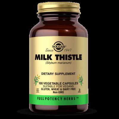 Расторопша, Milk Thistle, Solgar, 100 капсул