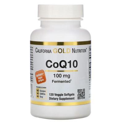 Коэнзим CoQ10, California Gold Nutrition, 100 мг, 120 капсул