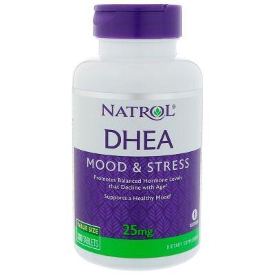 Дегидроэпиандростерон, DHEA, Natrol, 25 мг, 300 таблеток