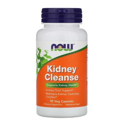 Очистка почек и мочевого, Kidney Cleanse, Now Foods, 90 капсул