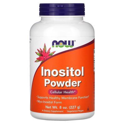 Инозитол, порошок, Inositol Powder, Now Foods, 227 г