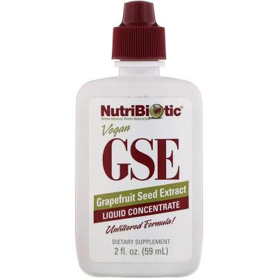 Экстракт грейпфрутовой косточки, GSE Grapefruit Seed Extract, NutriBiotic, 59 мл