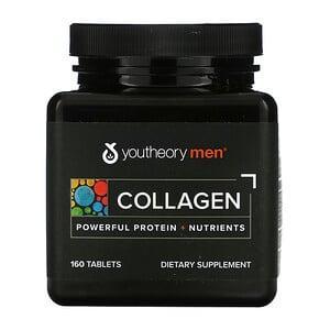 Коллаген для мужчин, Collagen for Men, Youtheory, 160 таблеток