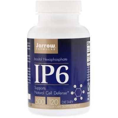 Инозитол гексафосфат, IP6, Jarrow Formulas, 500 мг, 120 капсул