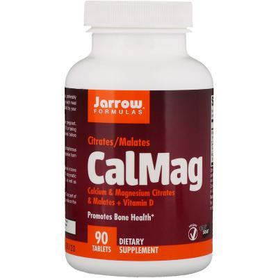 Кальций магний, CalMag, Jarrow Formulas, 90 таблеток