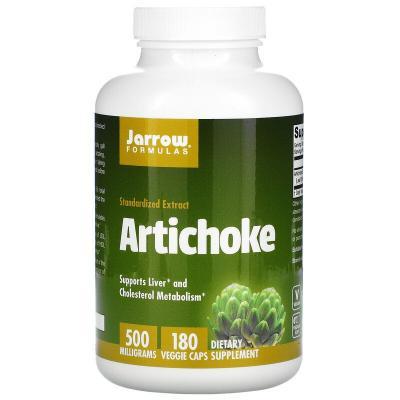 Jarrow Formulas, Artichoke, 500 mg, 180 Veggie Caps (02/2022)