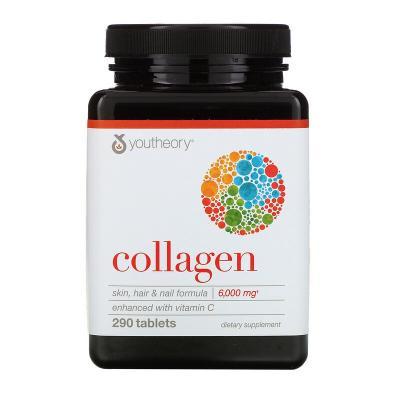 Коллаген, Collagen, Youtheory, 290 таблеток