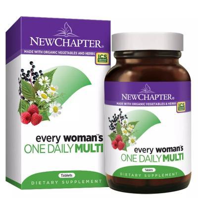Ежедневные мультивитамины для женщин, Every Woman's, New Chapter, 48 таблеток