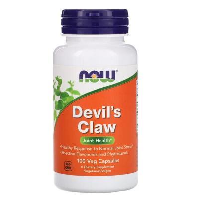 Коготь дьявола, Devil's Claw, Now Foods, 100 капсул