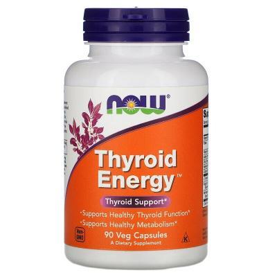 Для щитовидной железы, Thyroid Support, Now Foods, 90 капсул