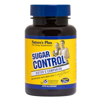 Блокатор Сахара, Sugar Control, Natures Plus, 60 гелевых капсул