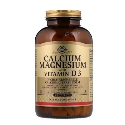 Кальций магний Д3 (Calcium Magnesium), Solgar, 300 таблеток