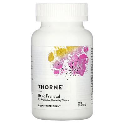 Витамины для беременных, Basic Prenatal, Thorne Research, 90 капсул