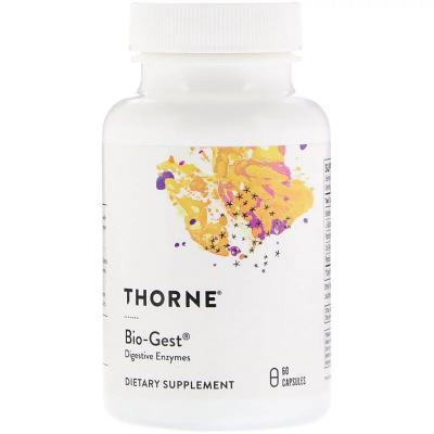 Био-гест, Bio-Gest, Thorne Research, 60 капсул