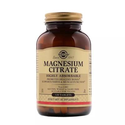 Цитрат магния, Magnesium Citrate, Solgar 120 таблеток