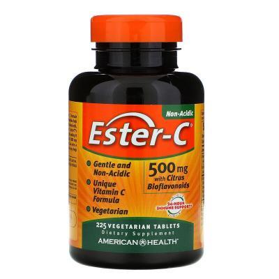 Витамин С (аскорбат), American Health, 500 мг, 225 таблеток