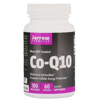 Коэнзим Q10, Co-Q10, Jarrow Formulas, 100 мг, 60 капсул