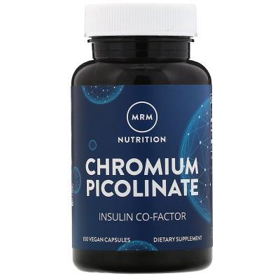 Хром Пиколинат, Chromium Picolinate, MRM, 200 мкг, 100 капсул