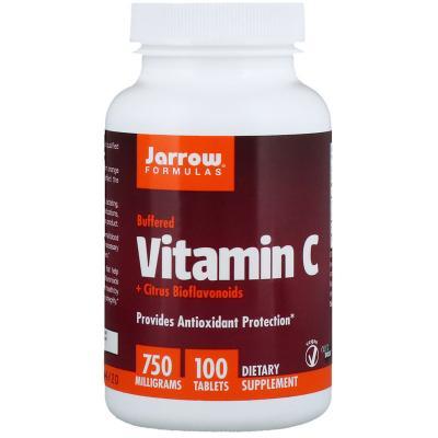 Витамин С, Vitamin C, Jarrow Formulas, 750 мг, 100 таблеток