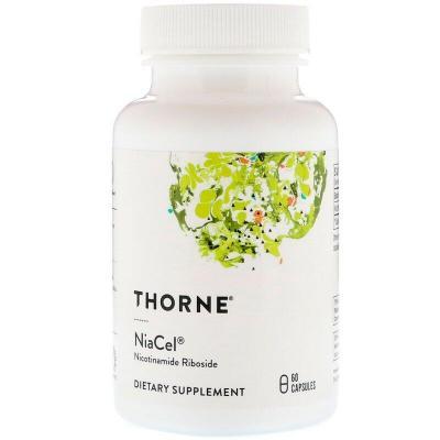 Никотинамид рибозид, Nicotinamide Riboside, Thorne Research, 60 капсул