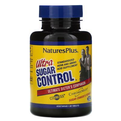 Пищевая добавка «Ультра контроль сахара», Nature's Plus, 60 таблеток