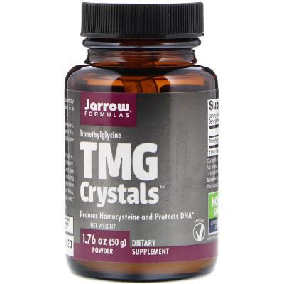 Триметилглицин, TMG Crystals, Jarrow Formulas, 50 г