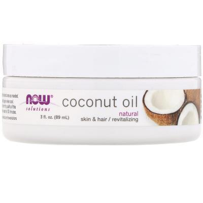 Кокосовое Масло, Coconut Oil, Now Foods, 89 мл